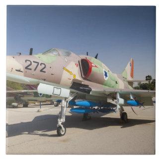 Combatiente construido en Estados Unidos de A-4 Sk Azulejo Cuadrado Grande