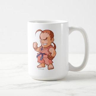 Combatiente Dan del bolsillo Tazas De Café