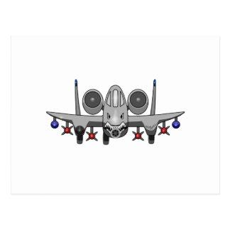 Combatiente de A-10 Warthog Postales