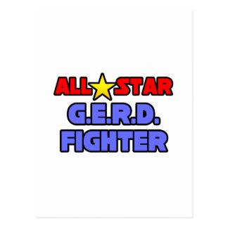 Combatiente de All Star G.E.R.D. Tarjeta Postal