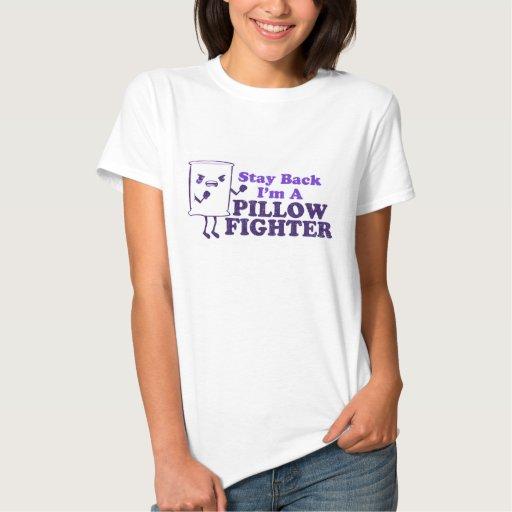 Combatiente de la almohada camisetas