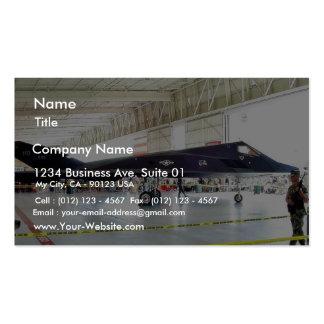 Combatiente de la cautela del aeroplano tarjetas de visita