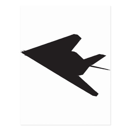 Combatiente de la cautela F-117 Tarjeta Postal