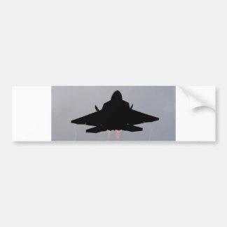 COMBATIENTE DE LA CAUTELA F-22 PEGATINA PARA AUTO