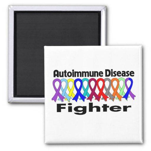 COMBATIENTE de la enfermedad autoinmune Imán Cuadrado