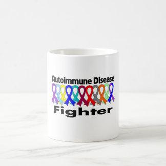 COMBATIENTE de la enfermedad autoinmune Taza De Café