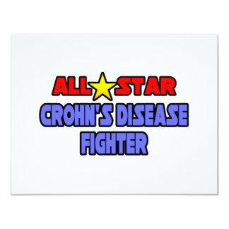 Combatiente de la enfermedad de All Star Crohn Anuncios