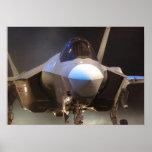 Combatiente de la huelga de la junta F-35 Póster