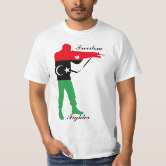 Combatiente de la libertad de Libia Playera