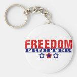 Combatiente de la libertad llaveros personalizados