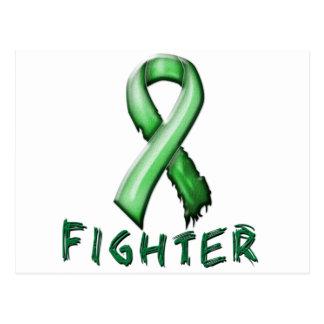 Combatiente del cáncer del riñón tarjetas postales