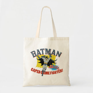 Combatiente del crimen de Batman Caped Bolsa Tela Barata