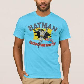 Combatiente del crimen de Batman Caped Playera