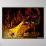 Combatiente del dragón poster