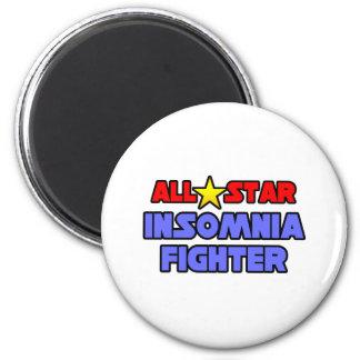 Combatiente del insomnio de All Star Imán