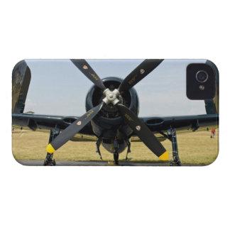 Combatiente del portador de la marina de guerra de Case-Mate iPhone 4 cobertura