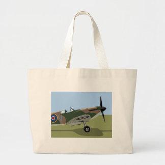 Combatiente del Spitfire WW2 Bolsa De Mano