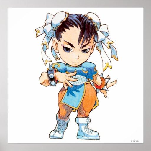Combatiente estupendo II Turbo Chun-Li del rompeca Impresiones