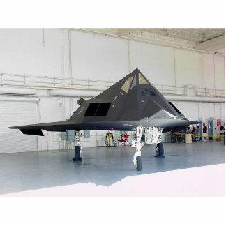 Combatiente F117a de la cautela Fotoescultura Vertical