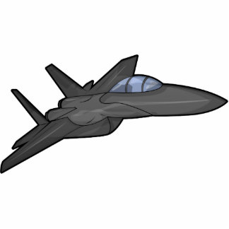 Combatiente F-15 Fotoescultura Vertical
