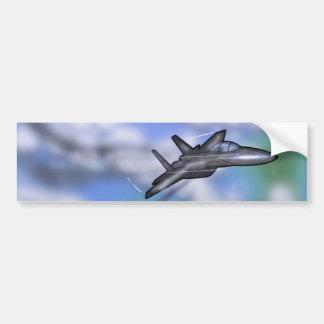 Combatiente F-15 Pegatina Para Auto