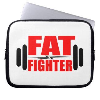 Combatiente gordo manga portátil