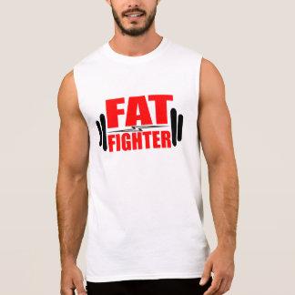 Combatiente gordo camiseta sin mangas