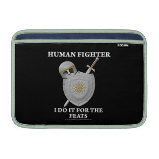 Combatiente humano Para las hazañas Fundas MacBook