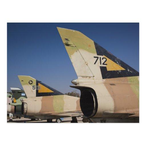 combatiente Israelí-construido 2 de Kfir Tarjetas Postales