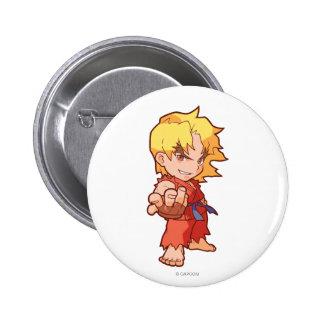 Combatiente Ken 2 del bolsillo Pins