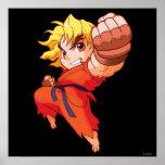 Combatiente Ken del bolsillo Poster