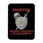 Combatiente: La mejor defensa Iman Rectangular