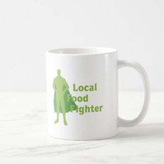 Combatiente local de la comida taza clásica