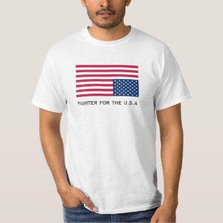 combatiente para la camisa de los E.E.U.U.