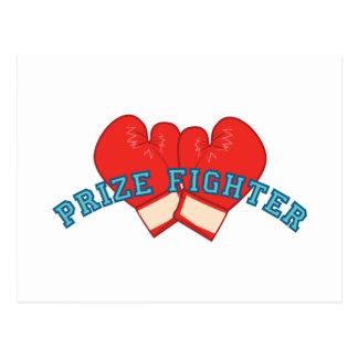 Combatiente premiado tarjetas postales