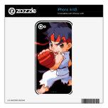 Combatiente Ryu 2 del bolsillo iPhone 4 Skins