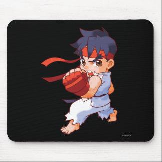 Combatiente Ryu 2 del bolsillo Tapetes De Ratones