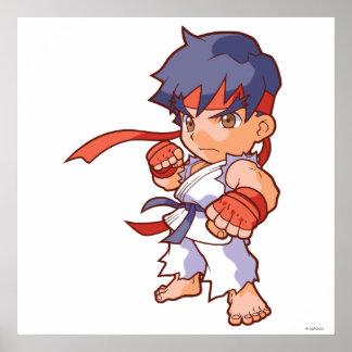 Combatiente Ryu del bolsillo Impresiones