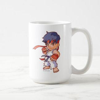 Combatiente Ryu del bolsillo Taza