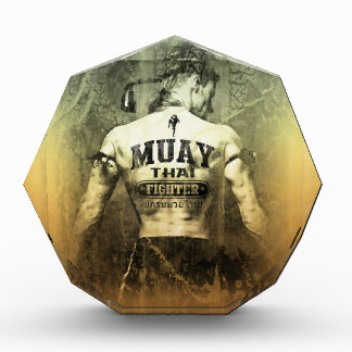 Combatiente tailandés de Muay del vintage