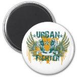 Combatiente urbano iman para frigorífico