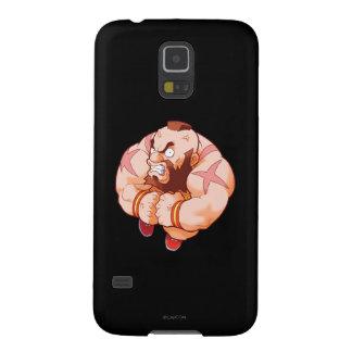 Combatiente Zangief del bolsillo Carcasa Para Galaxy S5