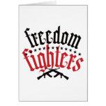 Combatientes AK47 de la libertad Felicitación