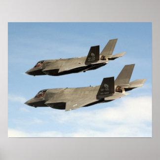 Combatientes de la huelga de la junta de F-35B Posters