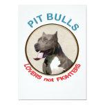 Combatientes de los amantes de los pitbulls no anuncio