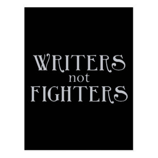Combatientes de los escritores no postal