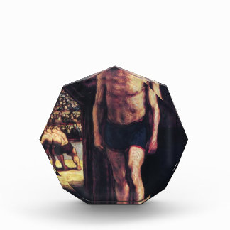 Combatientes del circo de Honore Daumier