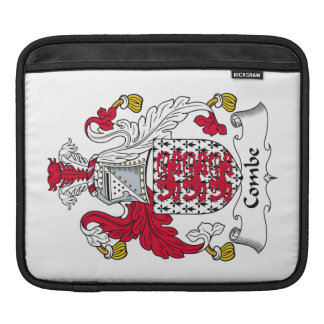 Combe Family Crest Sleeves For iPads
