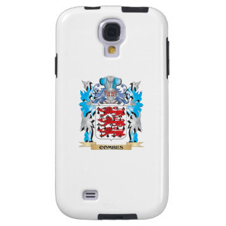Combes Coat of Arms - Family Crest Galaxy S4 Case