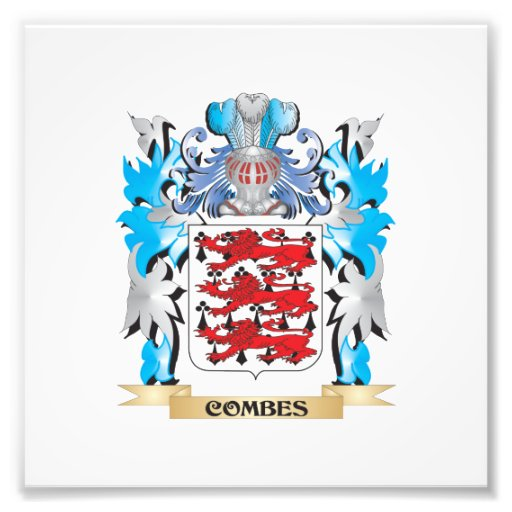 Combes Coat of Arms - Family Crest Photo